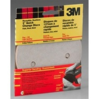 "3M 5"" 5 Hole Quick Change Sanding Discs"