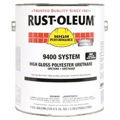 Rust-Oleum High Performance 9400 System High Gloss Polyester Urethane Gray 9483402