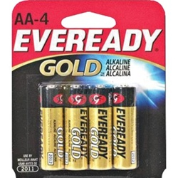 Energizer Eveready Gold Batteries