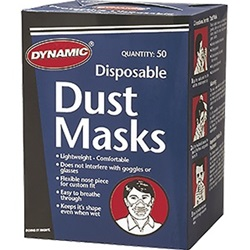 Dynamic Disposable Dust Masks 50 Pack AH002100