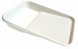 "11"" White 1 Quart Tray Liner"