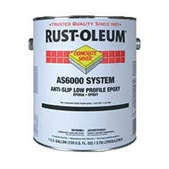 Rust-Oleum Concrete Saver AS6000 System Anti-Slip Low Profile Epoxy Kit