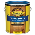 Cabot Wood Toned Deck & Siding Stain - VOC Water Reducible Oil Modified Resin