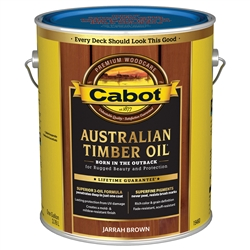 Cabot Australian Timber Oil - VOC Water Reducible Oil Modified Resin