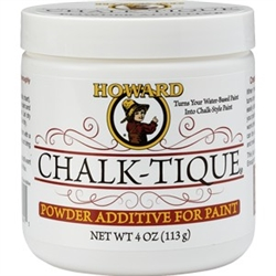 Howard 4 Oz Chalk-Tique Powder Additive For Paint CA0004