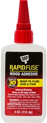 DAP 4 Oz Rapid Fuse Wood Adhesive 00157