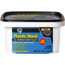DAP Natural Latex Plastic Wood Filler