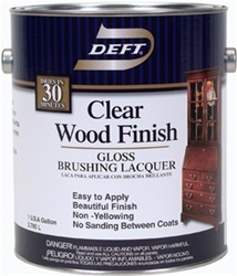 Deft Clear Wood Finish Brushing Lacquer