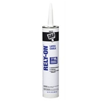 DAP 10.3 Oz White Rely-On Vinyl Latex Caulk 18260