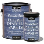 Modern Masters Decorative Painter's Exterior Dead Flat Varnish DP612