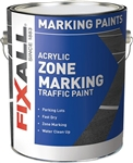 FixALL Zone Marking Traffic Paint Latex Gallon