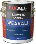 FixALL WearAll Acrylic Enamel Satin Gallon