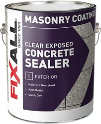 FixALL Clear Exposed Concrete Sealer Gallon F90003