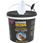 Grime Boss Original Citrus Scent Heavy Duty Wipes 120 Ct Bucket G107B6DH