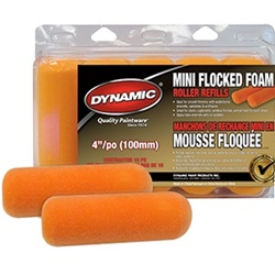 Dynamic Mini Flocked Foam Roller Covers