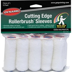 "Dynamic 3"" Cutting Edge Rollerbrush Roller Covers"