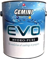 Gemini EVO HYDRO-PURE Waterborne Clear Topcoat Gallon