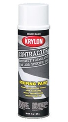 Krylon Contractor Striping Paints--Solvent Based