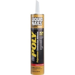 Liquid Nails 10 Oz Ultra Duty Poly LN-950