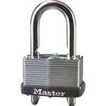 "Master Lock 1-3/4"" Warded Adjustable Shackle Padlock 510D"
