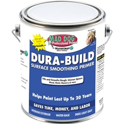 Mad Dog Dura-Build Surface Smoothing Primer Gallon MDPDB100