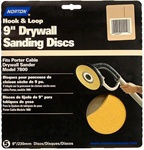 "Norton 9"" WallSand Hook & Loop Sanding Disc 15 Pack"