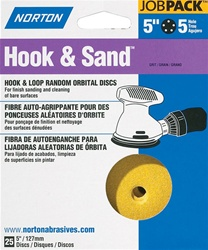 "Norton 5"" X 5 Hole Hook & Sand Disc 25 Pack"