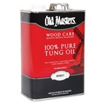 Old Masters Wood Care Pure Tung Oil