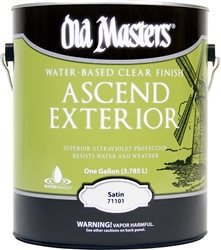 Old Masters Ascend Exterior™ Water-Based Clear Finish