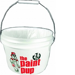 Dripless 5 Qt Paint Pup with Liners P-D-01-W