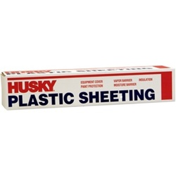 Husky Contractor's Choice Plastic Sheeting