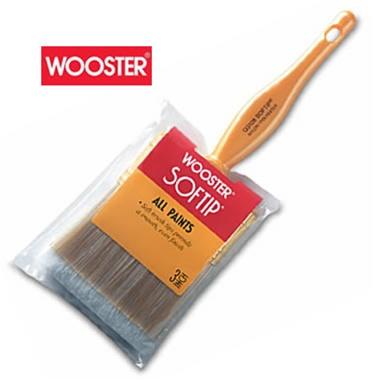 Wooster Brush Q3108-2 1//2 Q3108-2-1//2 Softip Paintbrush 2-1//2-Inch