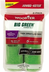 Wooster Jumbo-Koter Big Green 4-1/2""