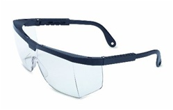 Sperian Protection Black Frame Clear Lens Traditional Style Safety Glasses RWS-51003