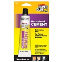 Super Glue 1 Oz Household Cement T-HCT