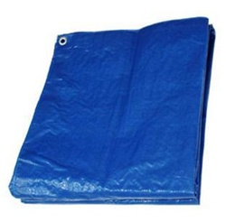 Blue Poly Tarp Deluxe Hygrade