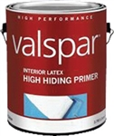 Valspar Interior Latex High-Hiding Primer White Gallon 11600
