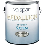 Valspar Medallion Interior Acrylic Latex Paint Satin White 3400