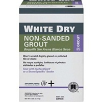 Custom Building Products White Dry Non-Sanded Tile Grout