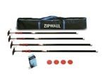 ZipWall® Low Cost ZipPole® 4-Pack Kit ZP4