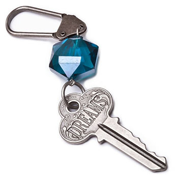 Jewel Tone Dreams Keychain