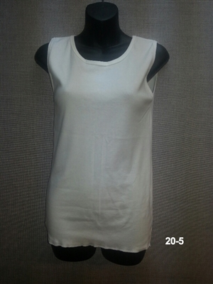(20-5) Sleeveless Cotton Undershirts