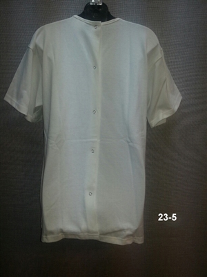 (23-5) Back Snap Undershirt