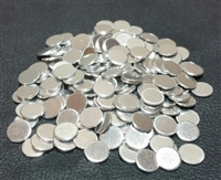 "Aluminum discs, 3/8"", polished finish"