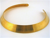"1"" x 12 3/4"" brass collar blank"
