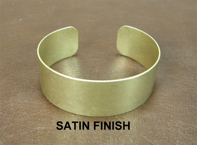 Brass bracelet blanks