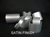 20 gauge Satin Aluminum Bracelet Blanks, Mixed Dozen