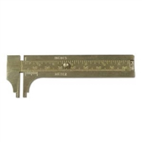 Brass mm gauge