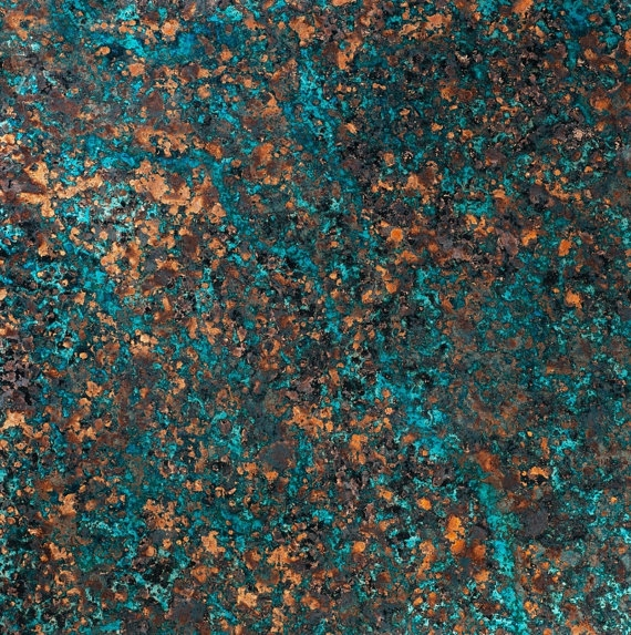 Copper Patina Sheet