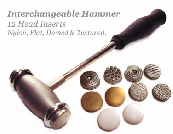 12 head texturing hammer metal